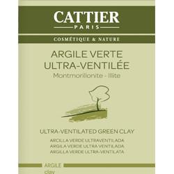 Argile Verte Ultra-ventilée CATTIER