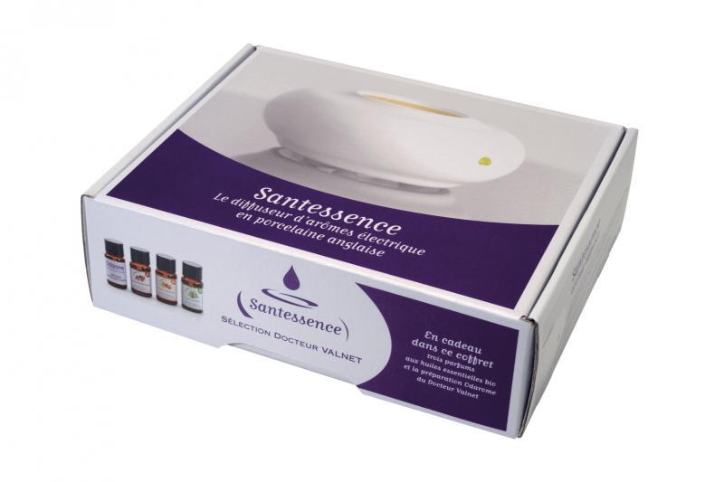 diffuseur huiles essentielles santessence dr valnet la petite maison du bio. Black Bedroom Furniture Sets. Home Design Ideas