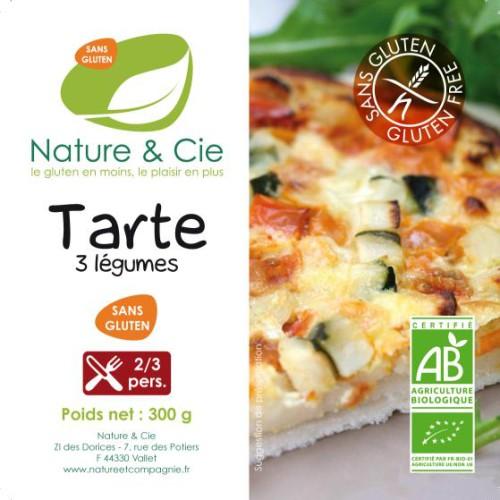 Nature Et Cie Tarte 3 Legumes