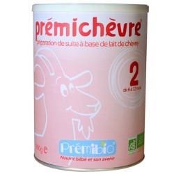 Premichèvre Lait Bébé 2ème âge PREMIBIO