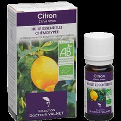 Huile Essentielle Bio Citron DR VALNET