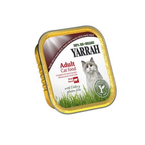 Yarrah Chat Barquette Boeuf Chicorée