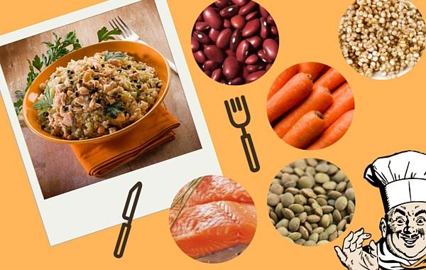 Article Blog Bio Recette Cereales Saumon