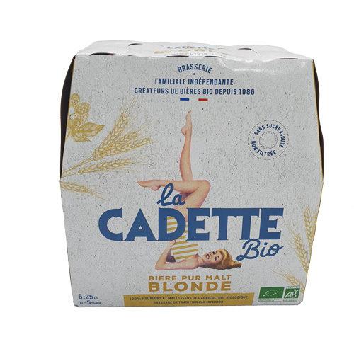 Bières Blonde Bio La Cadette