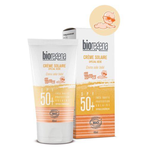 Bioregena Crème Solaire Spécial Bébé Spf 50