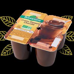 Crème Dessert Au Chocolat Bio BONNETERRE
