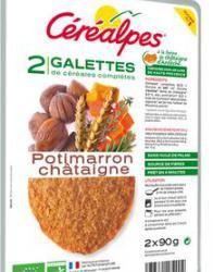 Galette Végétale Potimarron/châtaigne