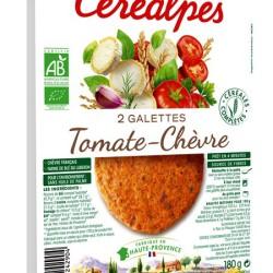Galette Végétale Tomates/chèvre CEREALPES