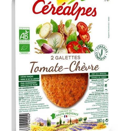 Cerealpes Tomates Chevre