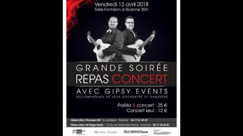 Concert : Grande Soirée Gipsy !