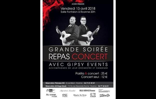Concert Gipsy Roanne