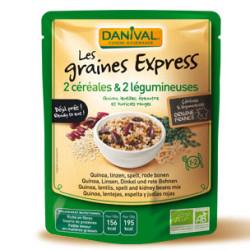 Graines Express Céréales & Légumineuses DANIVAL