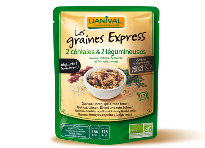 Danival Graines Express Cereales Legumineuses