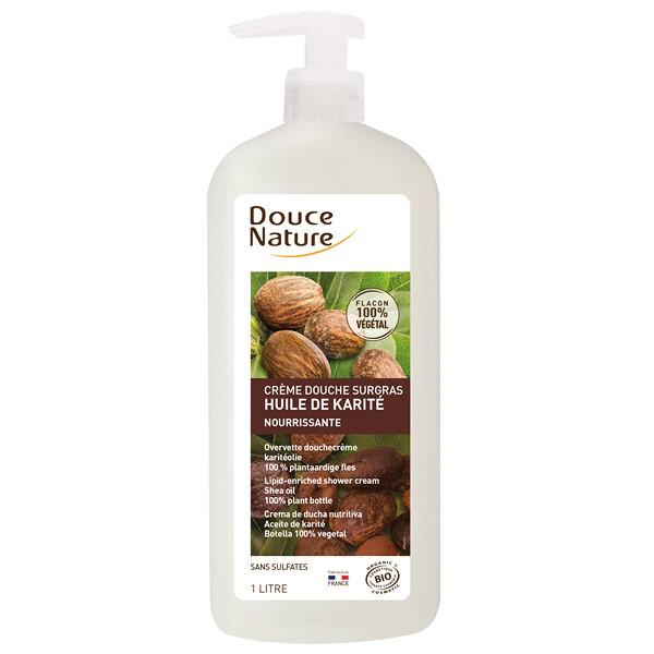 douce-nature-creme-douche-surgras-karite-1l