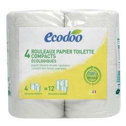 Papier Toilette écologique Recyclé Compact