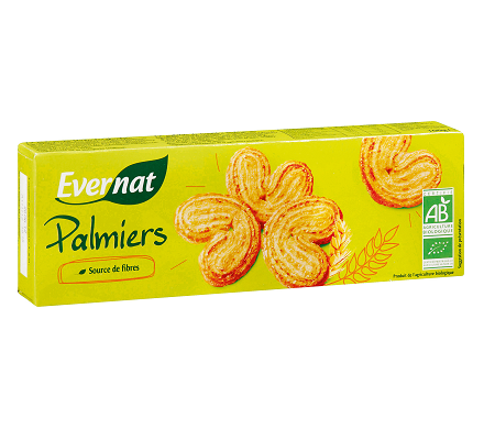 Evernat Biscuits Palmiers