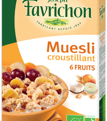 Muesli Croustillant Aux 6 Fruits