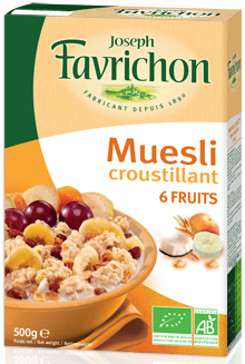 Favrichon Mueslis 6 Fruits