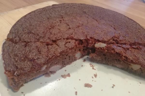 [RECETTE] Moelleux Chocolat-poire Sans Gluten