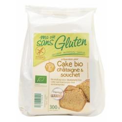 Préparation Cake Châtaigne-souchet MA VIE SANS GLUTEN