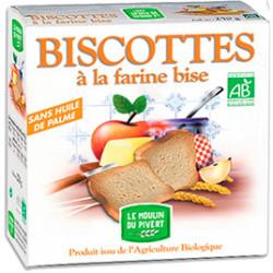 Biscottes à La Farine Bise MOULIN DU PIVERT