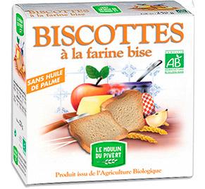 Moulin Pivert Biscottes Farine Bise
