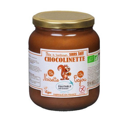Noisereais Production Pate Tartiner Chocolinette