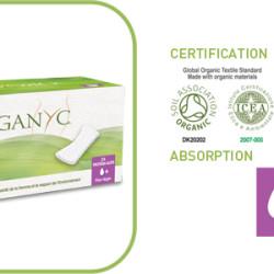 Protège-slips Coton Bio ORGANYC