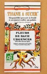La Tisane à Sucer Pastille Aux Fleurs De Bach URGENCES