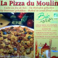 Pizza Bio Surgelée Légumes Grillés/gorgonzola