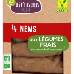 Nems Aux Légumes LES P'TITS CHEFS