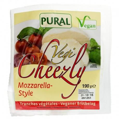 Pural Veggi Cheezly Mozzarella Style