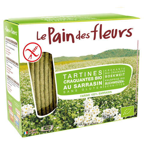 Pain Des Fleurs Tartines Sarrasin