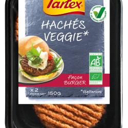 Hachés Végétariens Façon Burger TARTEX