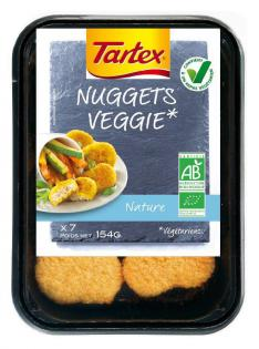 Tartex Nuggets Veggie Roanne