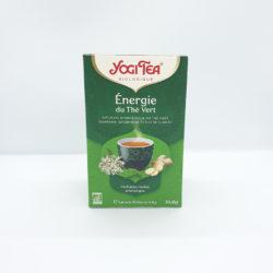 Infusion Thé Vert ENERGIE Yogi Tea