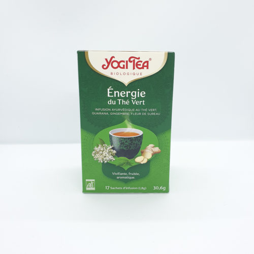 Thé Vert Energie Yoggi Tea